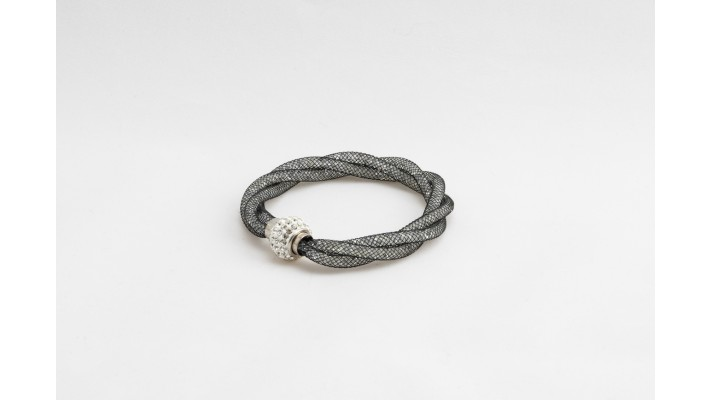 Black Sparkle Twist bracelet