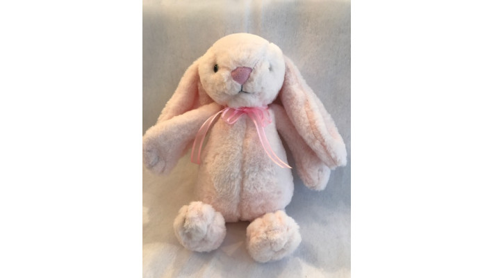 Pink Plush Rabbit