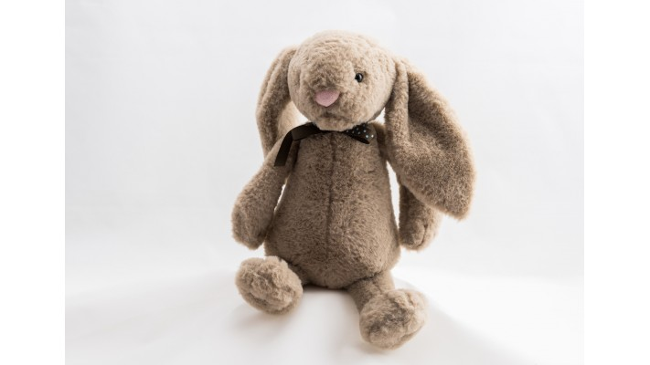 Plush Brown Rabbit