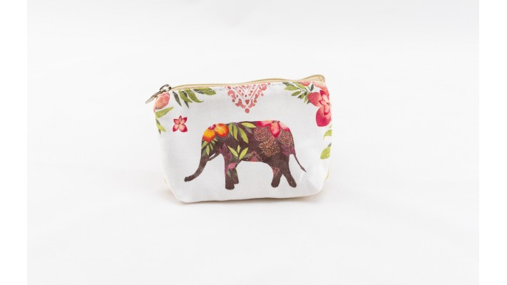 Cute elephant coin wallet
